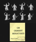 Chariot Miniatures 15mm Fantasy WRK1 Wraith Kings x 8